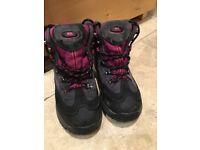 Trespass walking boots size 2