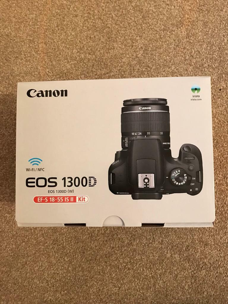 Canon Eos 1300d 18 55mm Is Ii Lens In Salford Manchester Gumtree Digital With