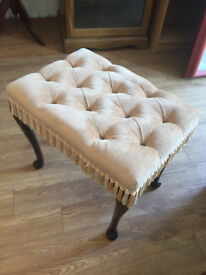 Dresser Stool , in great condition feel free to view size W 20 in D 14 in H 17 in