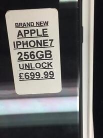 iPhone 7 256GB UNLOCKED BRAND NEW WITH APPLE WARRANTY