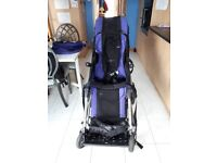 Convaid Rodeo Special Needs Buggy. Tilt in space, crash tested with anchor points
