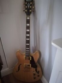 Ibanez electric guitar. Mint condition baught new and not really used so selling on
