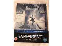 Insurgent Blu-ray Limited Edition - Never Watched