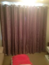 beautiful blackout Lavender Curtains