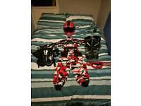 Kids Wulf sport motor cross kit