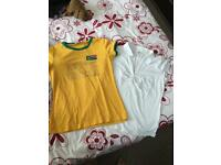 2 ladies T shirts size M