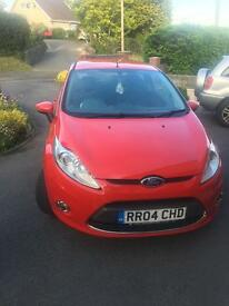 Ford Fiesta, very well looked after, very good condition.