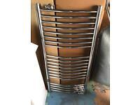 Chrome towel rail/radiator