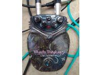 Black Paisley Liquid Metal distortion pedal