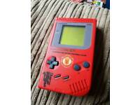 Manchester United limited edition Nintendo Gameboy