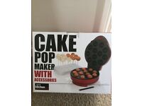 Cake pop maker with accessories used once