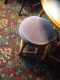 Stools & chairs pub club man cave ect