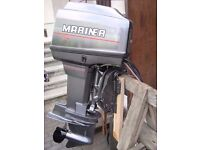 Mariner Mercury 60 HP ELPTO Two Stroke Outboard Boat Engine