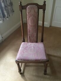 Ercol padded study chair