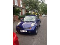 Great car. Nissan Micra 1.2 petrol. 2003. 2 previous owners. Keyless entry and start