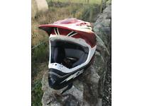 One industrie motorcross helmet