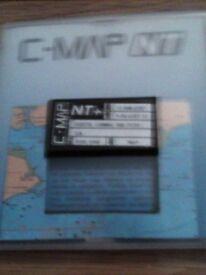BOAT GPS C-MAP NT+ CARD BRISTOL CHANNEL-IRISH SEA SAILING DIVING ETC