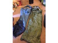 2 summer sleeping bags