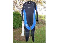 Mens large size wetsuit 5mm all year round use