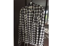 River Island Men Flannel Shirt LARGE