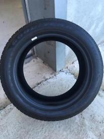 255/55 R19 Goodyear Eagle F1 tyres(as new)