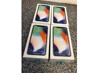 Brand new sealed & used iPhone X silver 64gb factory unlocked boxed.