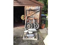 Yamaha RD250E parts and British bike parts job lot