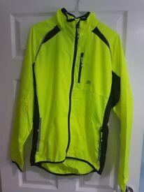 Trespass Windbloc High Vis Jacket - Yellow - Small Adult