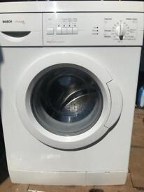 White bosh washing machine