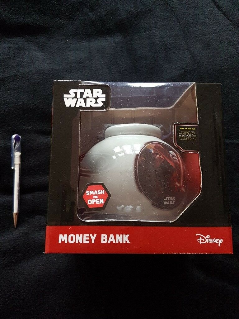 Star Wars Ceramic Money Box - brand new unused