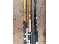 Lot of Fishing Rods and Gear