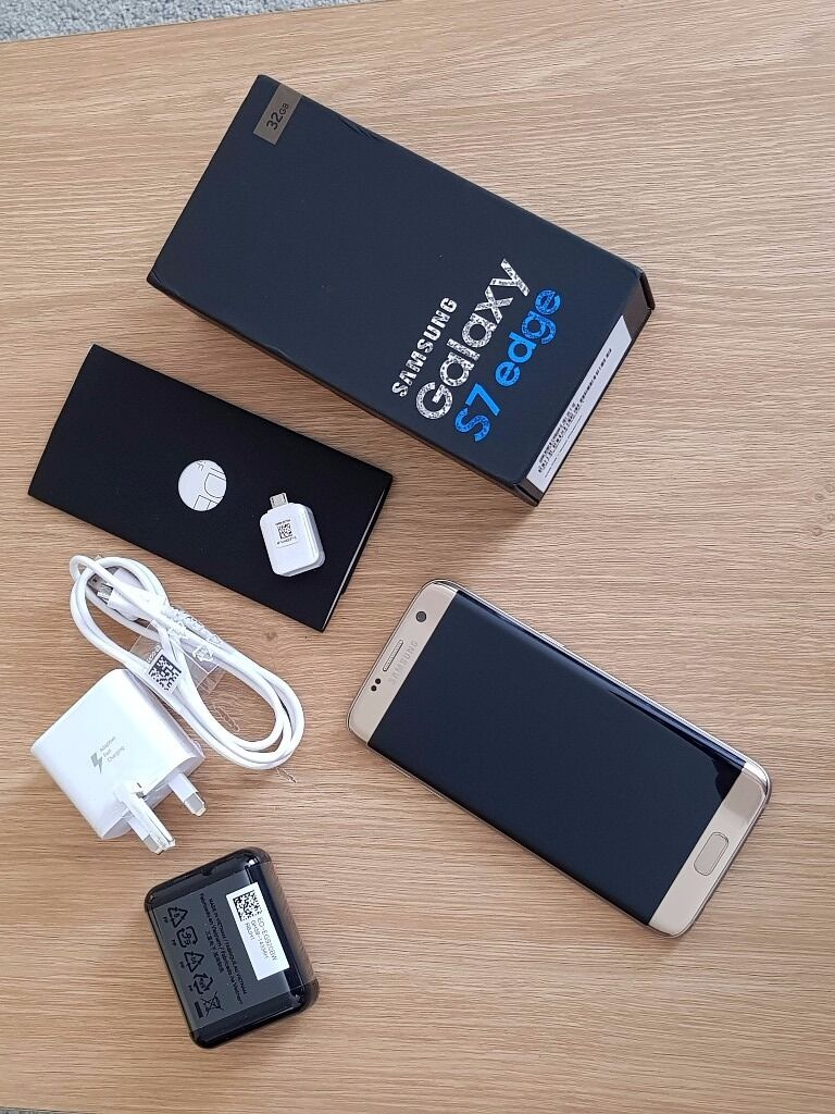 Samsung Galaxy S7 Edge 32gb Gold Platinum Unlocked Sim Free in as new conditionin Keynsham, BristolGumtree - Samsung Galaxy S7 Edge 32gb Gold Platinum Unlocked Sim Free in as new condition. Absolutely perfect condition with no scratches or marks. This phone has been kept in a protective case since it was purchased about 9 months ago. It has never been...