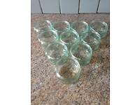 10 glass ramekins