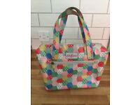 Cath kidston polka dot patchwork tote bag