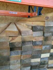 "3 1/2"" x 1 1/2"" (38mm x 90mm) Sawn Timber 2.55mtr Lengths"