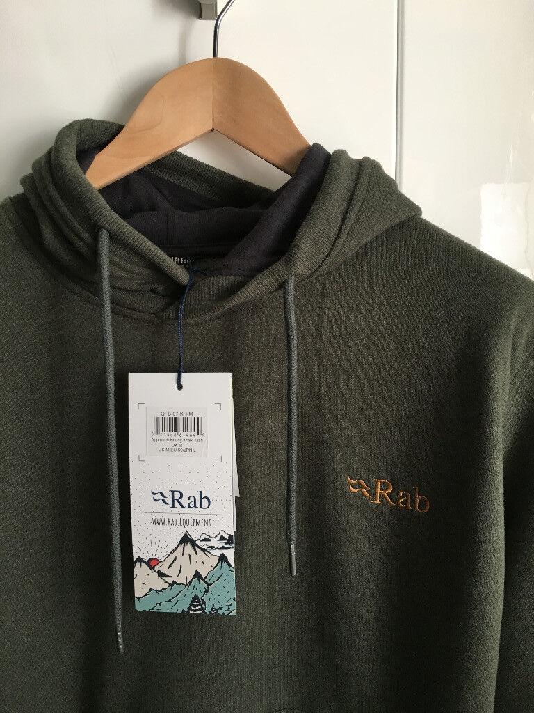 Rab Approach Hoody (new, still with tags on) - Men's, Medium, Khaki Marl (green)