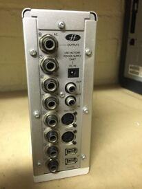 Focusrite Saffire Firewire soundcard, 2x FireWire connection Multiple in/output Ports.
