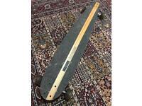 Indiana Longboard Skateboard, Swiss Handmade.