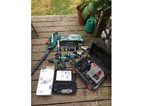 Makita, Bosch, Dremel Ex display power tools - spares & repairs only. Job lot.