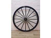 Vintage Cart Wheel (DELIVERY AVAILABLE)