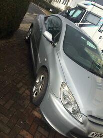 Peugeot 307 cc Convertible 12 months MOT, New clutch, New Exhaust