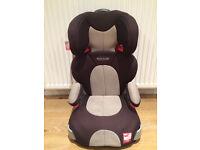 Graco Junior Car Seat (Black, Grey, Red) - Great Condition