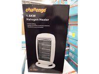 Challenge 1.6kW 4 element Halogen Heater boxed