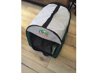 Pet dog crate and carrier