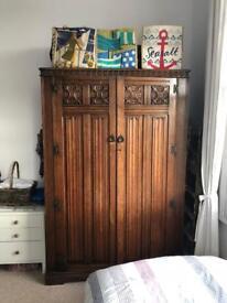 Crown AY Brothers antique wardrobe