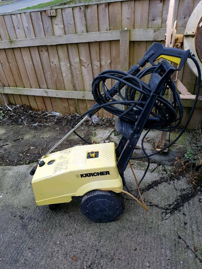 Karcher Hd750 Heavy Duty Pressure Washer In Keighley