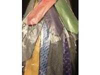 Men's ties 11 assorted colours - new