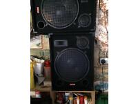 "Speakers Kam 15"" passive"