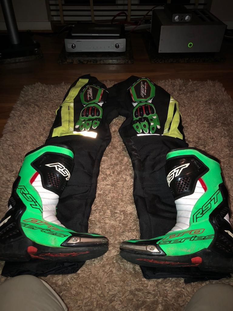 RST GLOVES, PANTS, BOOTS