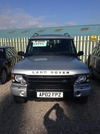 2002 Land Rover discovery td5 facelift only 64000 miles 12 months mot 6 months warranty